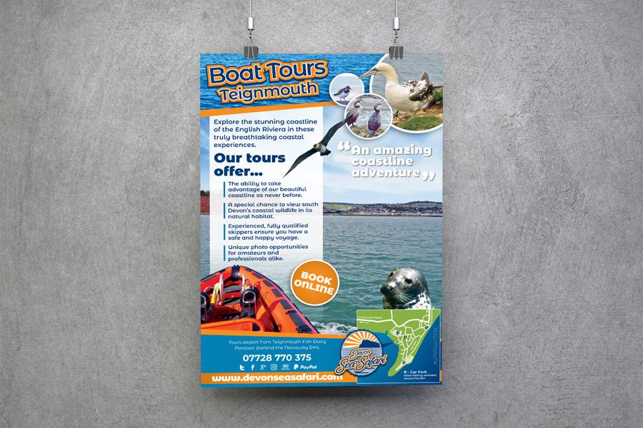 Devon Sea Safari Poster Visual